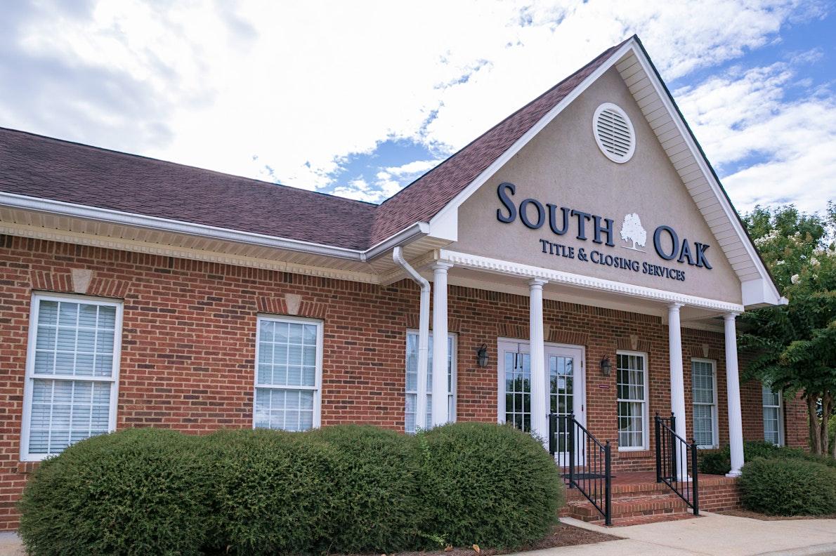 exterior of south oak title and closing in pelham alabama